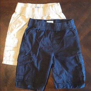 Children's Place pull on cargo shorts sz 5